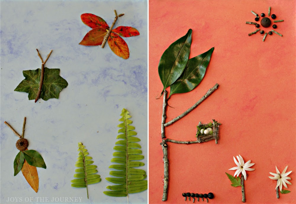 nature explore and craft