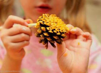 15 Cute Pinecone Crafts For Kids Just In Time For Fall